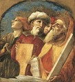 David and Moses with two other prophets or saints fragment from an Assumption of the Virgin - Pietro di Francesco degli Orioli
