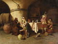 Late Night at the Tavern - Pompeo Massini