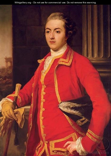 Portrait of a gentleman, said to be John Sadler - Pompeo Batoni Lucca