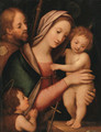 The Madonna and Child with the Infant Saint John the Baptist and Saint James the Great - Rafaello Piccinelli