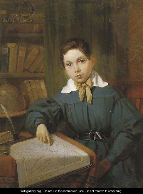 The young geographer - Pieter Gerardus Bernhard