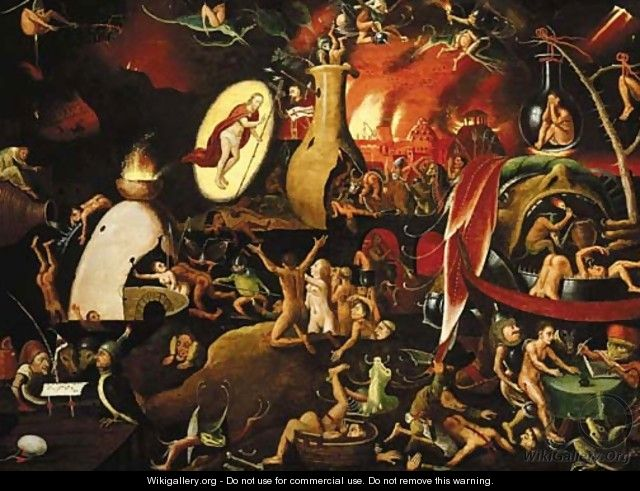famous paintings of hell bing images