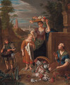 An allegory of the month of August - Pieter Snayers