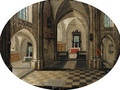 The interior of a church by day - Peeter, the Younger Neeffs