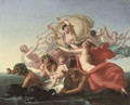 The Triumph of Amphitrite - Pierre-Desire Guillemet