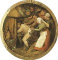 The Drunkard pushed into the Pigsty - Pieter the Elder Bruegel