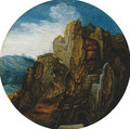 A mountainous landscape (La Source) - Pieter The Younger Brueghel