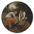 The Wood Cutters - Pieter The Younger Brueghel