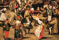 The Wedding Feast 2 - Pieter The Younger Brueghel
