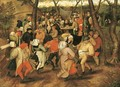 The Wedding Dance 2 - Pieter The Younger Brueghel