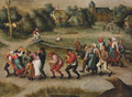 The Saint John's Dancers in Molenbeeck - Pieter The Younger Brueghel