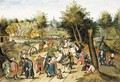 The return from the fair - Pieter The Younger Brueghel
