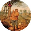 Proverb 'the nest robber' 2 - Pieter The Younger Brueghel