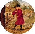 Proverb 'everything has a reason' - Pieter The Younger Brueghel