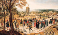 A wedding procession - Pieter The Younger Brueghel
