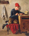 The Young Model Maker - Thomas Chambers