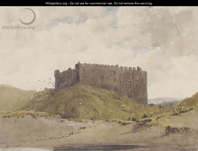 Manorbeer Castle, Pembroke - Thomas Bush Hardy