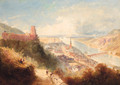 Castle and Town of Heidelberg, Germany - Thomas Charles Leeson Rowbotham