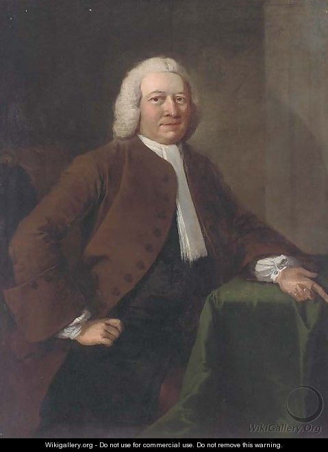 Portrait of Benjamin Day - Thomas Frye