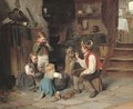 Breakfast time - Theophile Emmanuel Duverger