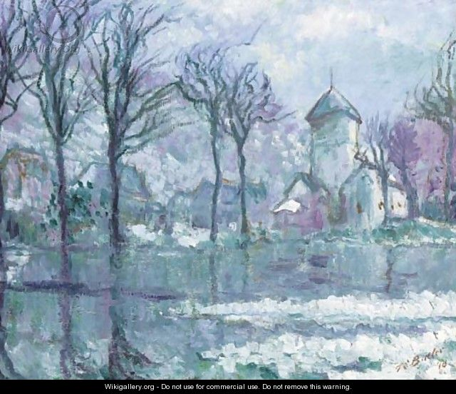 The Mill in the Flood, Giverny - Theodore Butler