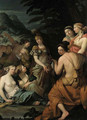 Minerva and the Muses on Mount Helicon - Theodorus van der Schuer
