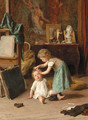 A touch of pampering - Theophile-Emmanuel Duverger