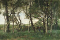 In the wood - Theophile Emile Achille De Bock