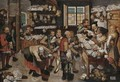 The collector of tithes 2 - (after) Pieter The Younger Brueghel