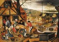 Autumn - (after) Pieter The Younger Brueghel