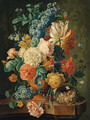 Flowers - (after) Paul Theodor Van Brussel