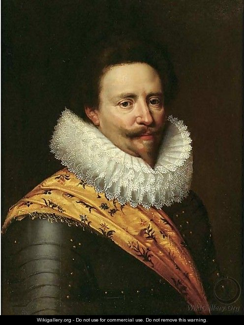 Portrait of Stadholder Frederik Hendrik, Prince of Orange (1584-1647) - (after) Michiel Jansz. Van Miereveld