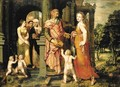 The Expulsion of Hagar - (after) Coxie, Michiel I