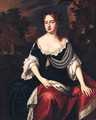 Portrait of Queen Anne - (after) William Wissing Or Wissmig