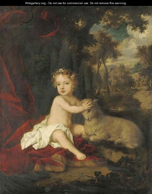 Portrait of Princess Isabella (1676-1681) - (after) Sir Peter Lely