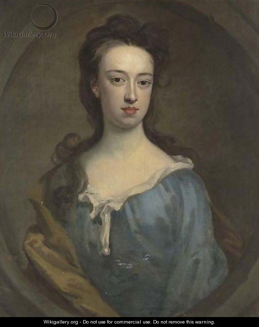 Portrait Of Mary Cholmley (1667-1748), Wife Of Nathaniel Chomley - (after) Kneller, Sir Godfrey