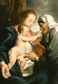 The Virgin and Child with Saint Anne 2 - (after) Dyck, Sir Anthony van