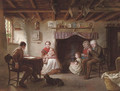 Sabbath evening in a shepherd's cottage - Sydney S. Morrish