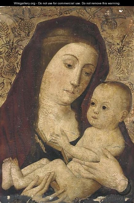 The Virgin and Child - Spanish School