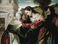 The Visitation - Moretto Da Brescia