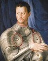 Portrait of Duke Cosimo I de' Medici - (after) Agnolo Bronzino