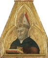 Saint Augustine, a pinnacle of the Borgo Sansepolcro Altarpiece - Stefano Di Giovanni Sassetta
