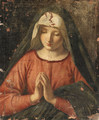 The Madonna at Prayer - (after) Giovanni Battista Salvi, Il Sassoferrato