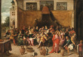 The Marriage at Cana - (after) Frans II Francken
