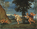 Apollo and Daphne - (after) Francesco Albani