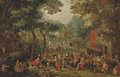 A village kermesse on St. George's Day - (after) David Vinckboons