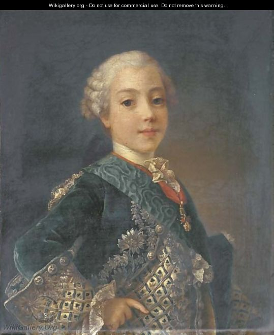 Portrait of a young gentleman, probably the comte d