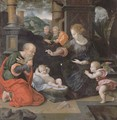 The Nativity - (after) Cleve, Joos van