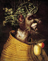Winter An anthropomorphic portrait of a man - (after) Giuseppe Arcimboldo