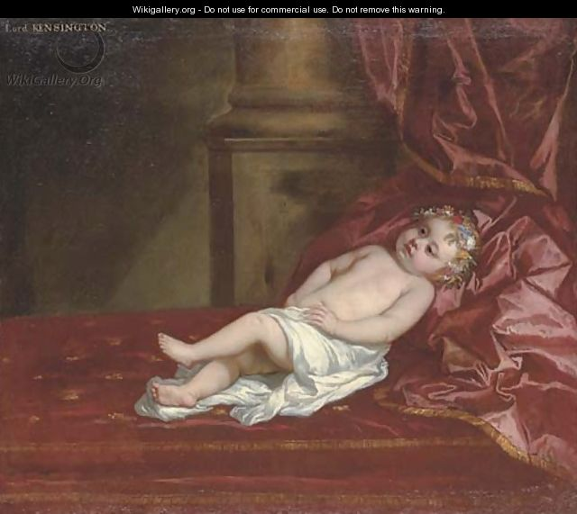 Portrait of a child, identified as Lord Kensington - Sir Peter Lely